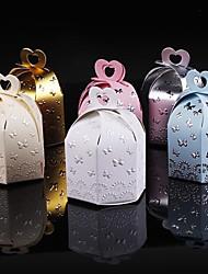 25 Pièce / Set Titulaire de Faveur-Cylindre Papier durci Boîtes à cadeaux Non personnalisé