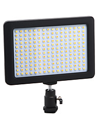 PAD 192 LED continuous light panel with camera mounting and filter highlighting