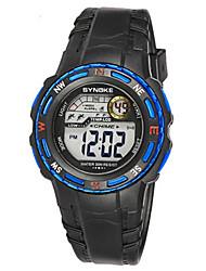 Муж. Модные часы Цифровой силиконовый Группа Черный