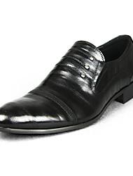 Masculino-Mocassins e Slip-Ons-Sapatos formais-Salto Baixo--Outras Peles de Animais-Casual