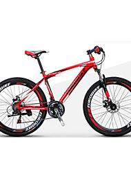 Bicicleta de Montaña Bicicletas plegables Ciclismo 21 Velocidad 27,5 pulgadas 1,95 pulgadas Shimano Doble Disco de FrenoHorquilla de