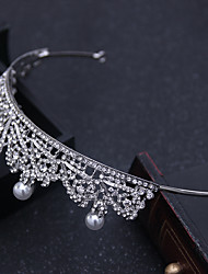 Rhinestone alliage headpiece-wedding occasion spéciale tiaras extérieures headbands hair pin 1 piece