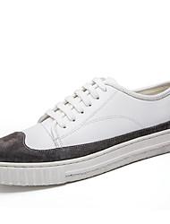 Herren-Sneakers Frühjahr Herbst Komfort PU Outdoor Casual weiß