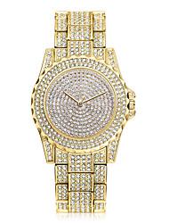Жен. Нарядные часы Модные часы Наручные часы Уникальный творческий часы Имитационная Четырехугольник Часы Часы со стразами Китайский
