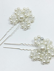1 Pieces /Set Imitation Pearl Headpiece-Wedding Special Occasion Hair Pin Hair Stick Hair Tool for Wedding Party Bride Hair Jewelry