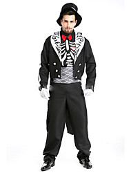 Costumes de Cosplay Cosplay Fête / Célébration Déguisement d'Halloween Mode Haut Pantalon Halloween Carnaval Masculin