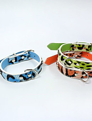 Fashion Cheetah stripes Cat dog collars pet supplies cat dog harness Pet Christmas Accessories Pet Supplies Wholesale sales