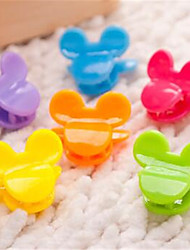 Dog Hair Accessories Dog Clothes Cute Solid Rainbow