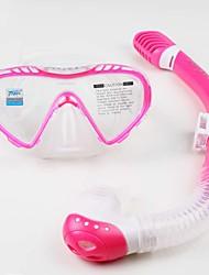 Máscaras de mergulho Snorkels Protecção Mergulho e Snorkeling Neopreno Fibra de Vidro