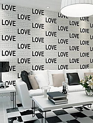Art Deco Wallpaper For Home Contemporary Wall Covering , Non-woven fabric Material Adhesive required Wallpaper , Room Wallcovering