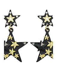 Fashion Star Shape Cute Earrings