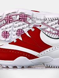Повседневная обувь Обувь для игры в гольф Жен. Противозаносный Anti-Shake Амортизация Водонепроницаемость Дышащий Износостойкий