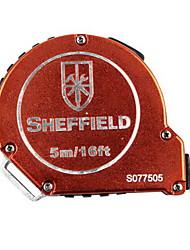 Liga de alumínio de escudo 5m auto-locking tape 5m