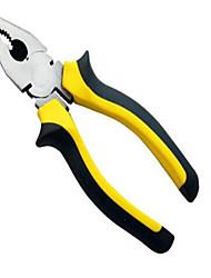 Hongyuan / держать европейский стиль 7 желтая черная ручка стальная проволока плоскогубцы 7 * 180 мм