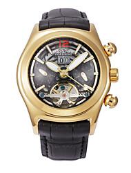 Masculino Relógio Elegante Relógio de Moda Chinês Automático - da corda automáticamente Couro Legitimo Banda Cores Múltiplas