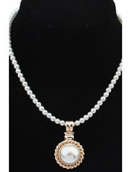 Pearl Euramerican Long Choker Pendant Sweater Chain Necklace Women Jewelry Christmas Gift