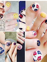 High Quality Stickers Toenails Nail Stickers Posted Green Nail Stickers