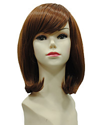 Short Curly Synthetic Wig Women Party Hairstyle Costume Fashion Capless Wig Synthetic Wig