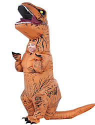 Inflatable Dinosaur T REX Costume Jurassic World Park Blowup Halloween Inflatable Costume Party Costume for Kids 6 to 9 Years Old
