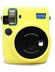 Capa-Amarelo Preto Rosa Azul--Um Ombro-Fujifilm-Câmara Digital