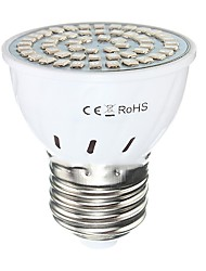 2W GU10 GU5.3(MR16) E27 Luz de LED para Estufas MR16 54 SMD 2835 300 lm Vermelho Azul AC110 AC220 V 1 pç