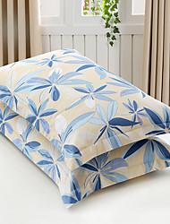 Цветочные одеяла покрытия наборы 2 шт хлопок поли / хлопок шаблон реактивной печати хлопок поли / хлопок королева 2шт shams