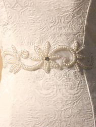 Floral Magnificent Sparkly Pearl Bridal Belts Wedding Belt for Women Dress Accessories