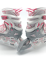 Kid's Inline Skates Adjustable White