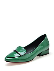 Women's Loafers & Slip-Ons Spring Fall Club Shoes Mary Formal Shoes Comfort Ballerina Flower Girl Shoes Light SolesLeather Patent