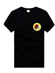 Taekwondo noir à manches courtes en t-shirt