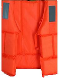 Venta al por mayor de chalecos salvavidas adultos chalecos salvavidas de trabajo marino al aire libre rafting pesca silbato de reflexión