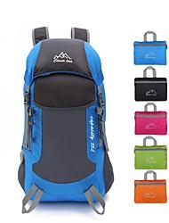 25 L sac à dos Camping & Randonnée Etanche Compact Multifonctionnel Téléphone/Iphone Vert Rouge Noir Bleu Orange Nylon