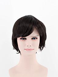Парик провода высокой температуры парика партии парика способа парика способа черной стороны черной естественный