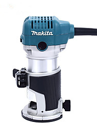 Machine de coupe makita 710w 1/4 3/8 machine à trous de bois rt0700c