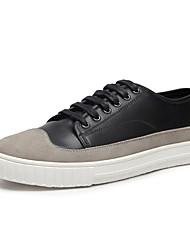 Da uomo-Sneakers-Tempo libero Casual Sportivo-Comoda pattini delle coppie-Basso-Scamosciato Microfibra-
