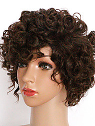 24cm Capless Wig Curly Fashion Synthetic Wig For Women Costume Wigs Synthetic Wigs