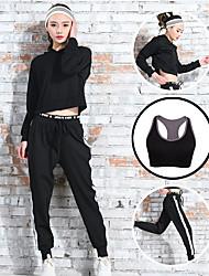 Mulheres Conjunto Camiseta e Calça de Corrida Secagem Rápida Confortável para Ioga Correr Exercício e Atividade Física Esportes