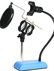 AS Sem Fios Microfone de Karaoke USB Azul