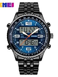 SKME Han Version Of The Men's Multi-Purpose Dial Waterproof Steel Band Watch