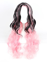 Lolita Wigs Sweet Lolita Color Gradient Curly Lolita Wig 80-90 CM Cosplay Wigs Wig For