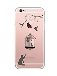 For iPhone X iPhone 8 Case Cover Ultra-thin Pattern Back Cover Case Cat Soft TPU for Apple iPhone X iPhone 8 Plus iPhone 8 iPhone 7 Plus
