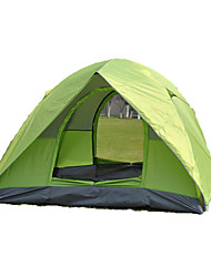 2 Personen Zelt Doppel Automatisches Zelt Einzimmer Camping Zelt 2000-3000 mm Oxford GlasfaserFeuchtigkeitsundurchlässig Wasserdicht