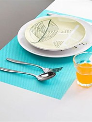 4Pcs Bright Bacteria Prohibiting Table Mats Washable Oil Proof Anti Fouling Fridge Pads Cuttable 45*29Cm