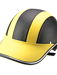 Motor Helmet Baseball Cap Style Safety Hard Hat Anti-UV  Yellow Black