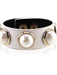 Mulheres Bracelete Natureza Moda Liga Forma Redonda Jóias Para Casamento Festa 1peça