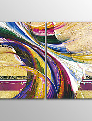 Canvas Print Abstract Modern,Two Panels Canvas Horizontal Print Wall Decor For Home Decoration
