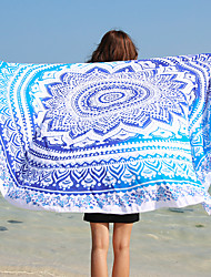 Beach Towel,Reactive Print High Quality 100% Polyester Towel