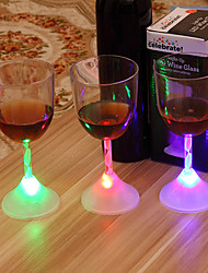 1Pcs Bar KTV Induction Luminous Cup Colorful Light-emitting LED Cup Encounter Water Namely Bright Dazzle Colour Above The Cup