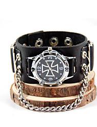 Reloj Inspirado por Asesino Connor Animé Accesorios de Cosplay Reloj Charol