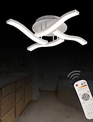 Montage de Flujo ,  Moderno / Contemporáneo Pintura Característica for LED Los diseñadores MetalSala de estar Dormitorio Comedor